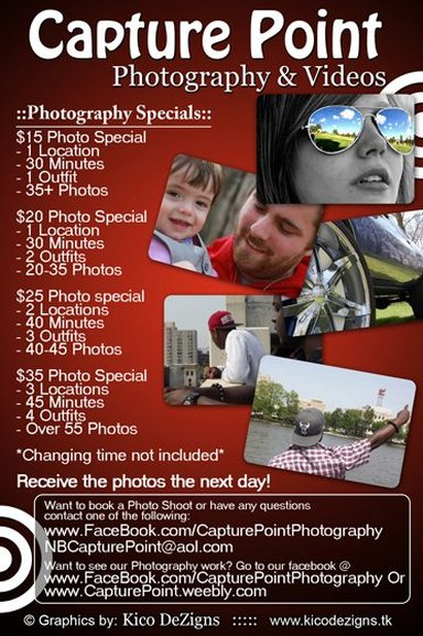 Photography Special Flyer Capture Point Photography Amp Videos